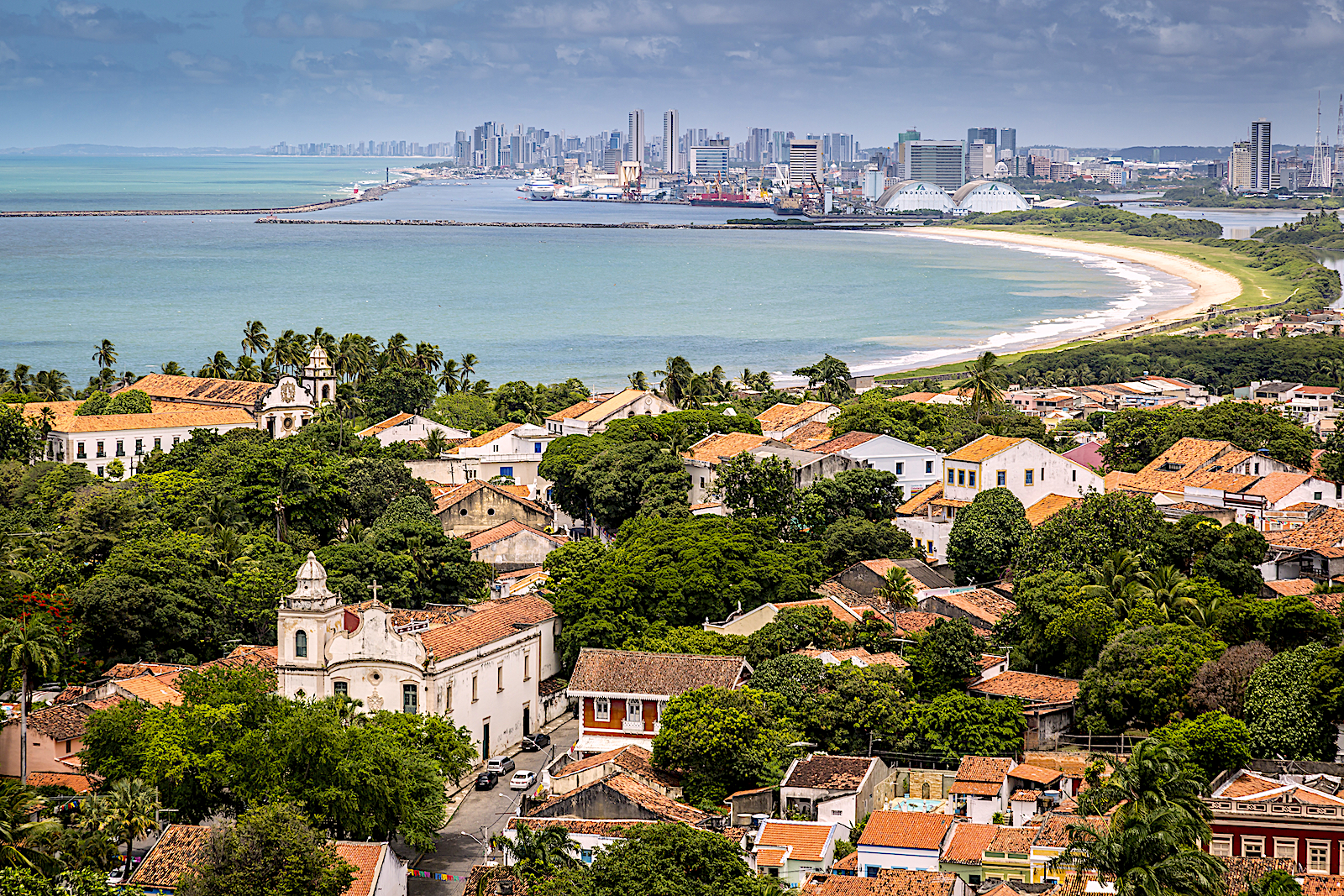 Colonial town of Olinda (just north of Recife) showcases Brazilian history